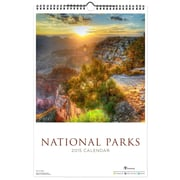 TF Publishing 2015 Deluxe Wall Calendar 18 x 12, National Parks