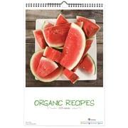 TF Publishing 2015 Deluxe Wall Calendar 18 x 12, Organic Recipes