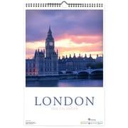 TF Publishing 2015 Deluxe Wall Calendar 18 x 12, London