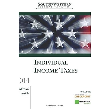 South-Western Federal Taxation 2014: Individual Income Taxes, Professional Edition, New Book (9781285424705)