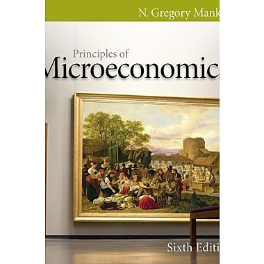 Principles of Microeconomics, 6th Edition, Book + Aplia Printed Access Card & Edition Sticker, Used Book (9781133150558)