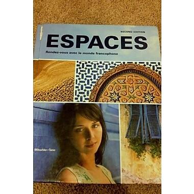 Espaces Rendez-vous Avec Le Monde Francophone Student Edition w/ Supersite Passcode, New Book (9781605762524)