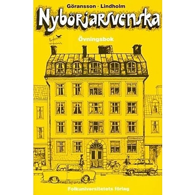 Nyborjarsvenska: Nyborjarbok I Svenska Som Frammande Sprak: Workbook (Swedish Edition), Used Book (9789174344585)
