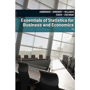 Essentials of Statistics for Business and Economics, Used Book (9781133587798)