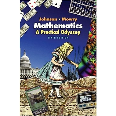 Mathematics: A Practical Odyssey (Available Titles Cengagenow), Used Book (9780495110743)