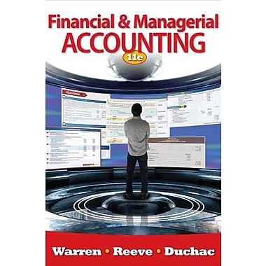 Bundle: Financial & Managerial Accounting, 11th + CengageNOW with eBook Printed Access Card, Used Book (9781111996130)