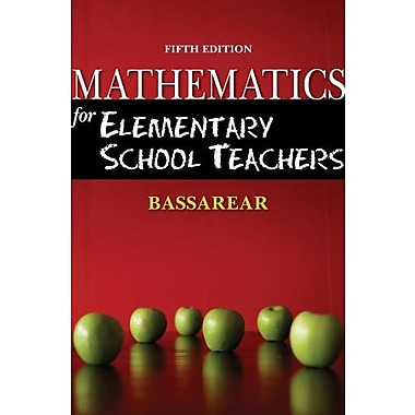 Bundle: Mathematics for Elementary School Teachers, (9781111649623)