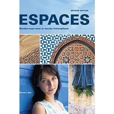 Espaces 2nd Ed - Loose-leaf Edition, Supersite Code, WebSAM Code and vText Code, New Book (9781605766621)
