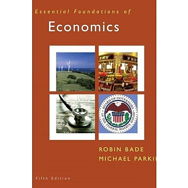 Essential Foundations of Economics & MyEconLab Student Access Code Card (5th Edition), Used Book (9780132479400)
