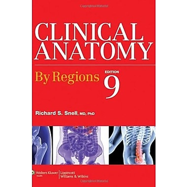 Clinical Anatomy by Regions, (9781609134464)