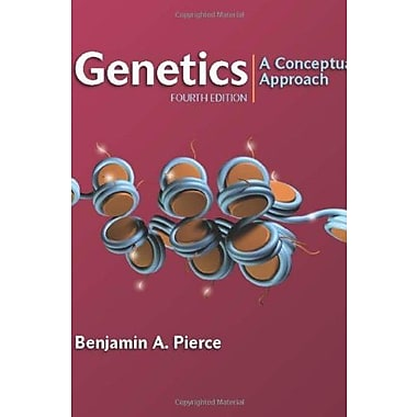 Genetics: A Conceptual Approach, Used Book (9781429232524)