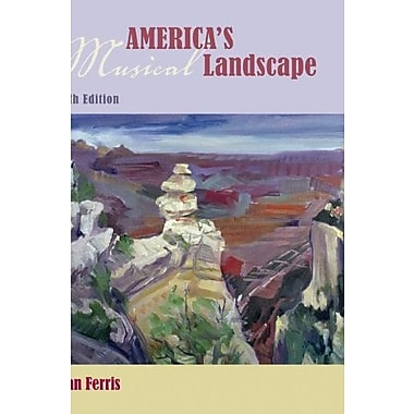 America's Musical Landscape (Book & CDs), New Book (9780077369347)