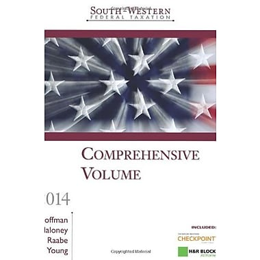 South-Western Federal Taxation 2014: Comprehensive, West Federal Taxation Comprehensive Vol., New Book (9781285180922)