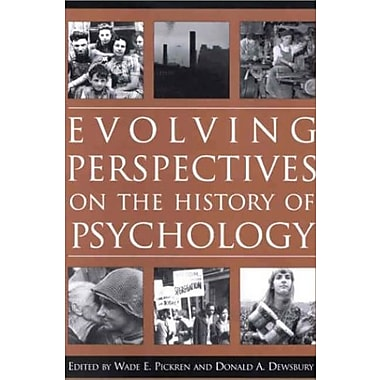 Evolving Perspectives on the History of Psychology, New Book (9781557988829)