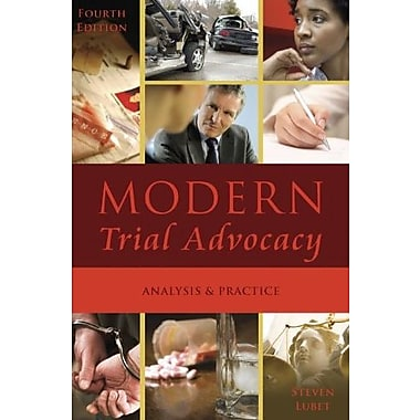 Modern Trial Advocacy: Analysis and Practice, New Book (9781601561275)