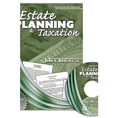 Estate Planning and Taxation with CD Rom (9780757526060)
