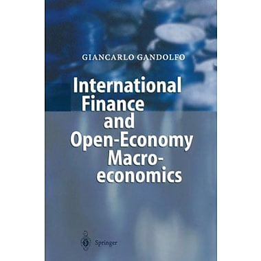 International Finance and Open-Economy Macroeconomics: Study Edition, Used Book (9783540417309)