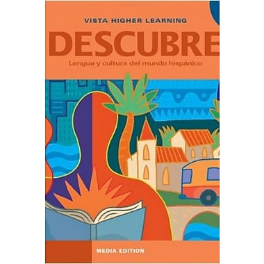 Descubre 2 Media Edition - Student Edition, Supersite Code and eCuaderno Code, New Book (9781617679247)