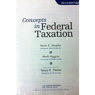 Concepts in Federal Taxation 2014 (9781285180540)