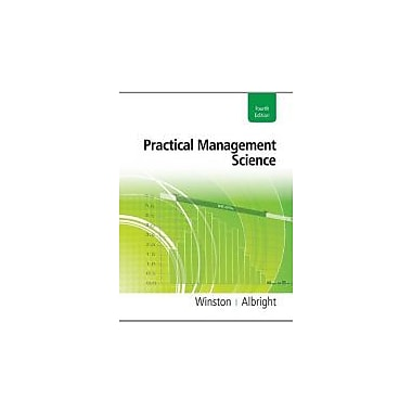 Practical Management Science (with Essential Textbook Resources Printed Access Card), Used Book (9781111531317)