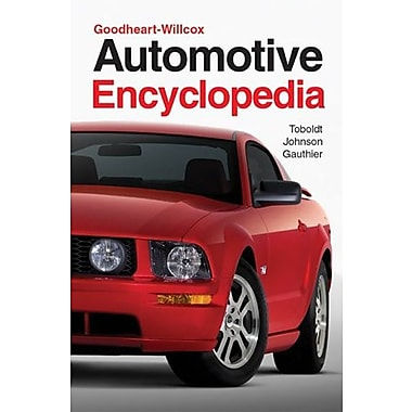 Automotive Encyclopedia (Goodheart-Wilcox Automotive Encyclopedia), New Book (9781590704226)
