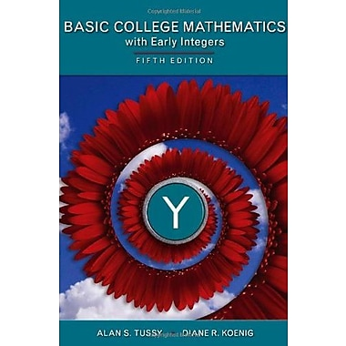 Basic Mathematics for College Students with Early Integers, (9781285450872)