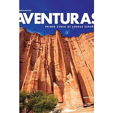 Aventuras 4th Loose-leaf Edition with Supersite PLUS Code and webSAM Code (Aventuras), New Book (9781618576606)