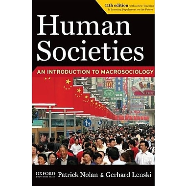 Human Societies 11th Edition Study Guide, New Book (9781594516696)