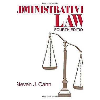 Administrative Law (Administrative Law (Sage Publications)), Used Book (9781412913966)