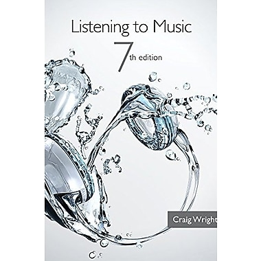 Bundle: Listening to Music (with Introduction to Listening CD), 7th +, New Book (9781285478401)