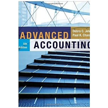 Advanced Accounting, New Book (9781118022290)