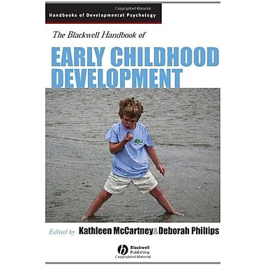 Blackwell Handbook of Early Childhood Development, Used Book (9781405120739)