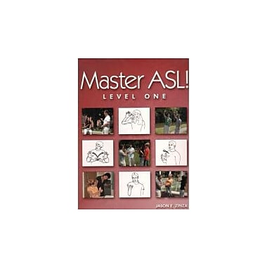 Master ASL - Level One (with DVD), Used Book (9781881133209)