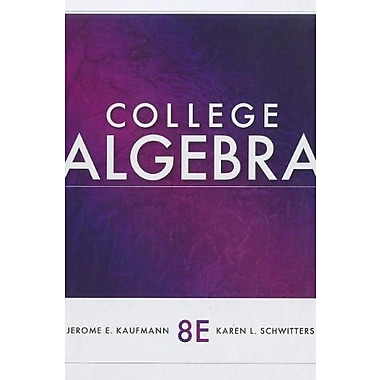 College Algebra, New Book (9781111990367)