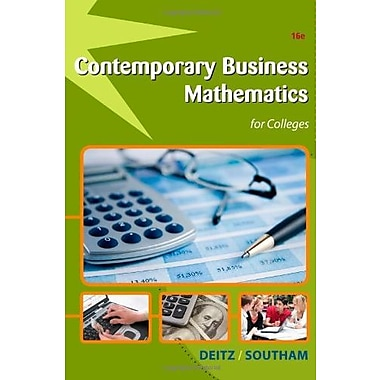 Contemporary Business Mathematics for Colleges (with Printed Access Card), Used Book (9781111821326)