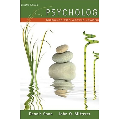 Psychology: Modules for Active Learning, New Book (9781111342869)