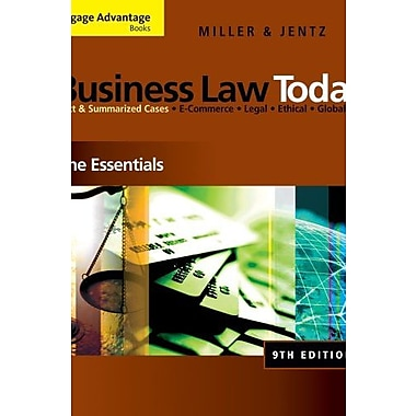 Bundle: Cengage Advantage Books: Business Law Today, New Book (9781111081379)