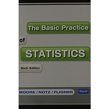 Basic Practice of Statistics (Paper) & CDR, New Book (9781464104343)