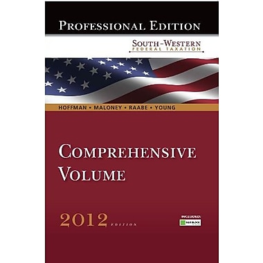 South-Western Federal Taxation 2012: Comprehensive, Professional Edition, Used Book (9781111825195)
