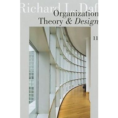 Ie Organiztn Theory Design 11E, Used Book (9781111989620)