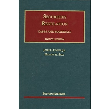 Coffee and Sale's Securities Regulation, 12th, New Book (9781609301163)