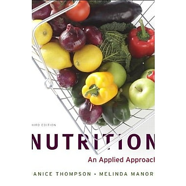 Nutrition: An Applied Approach, MyPlate Edition with MyNutritionLab plus MyDietAnalysis, New Book (9780321886866)