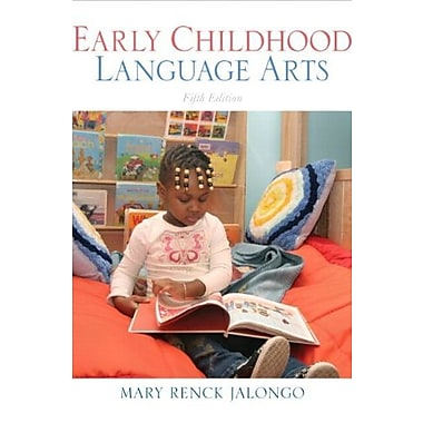 Early Childhood Language Arts (with MyEducationKit) (5th Edition) (MyEducationKit Series), Used Book (9780137073924)