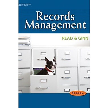 Bundle: Records Management, 9th + Simulation + CourseMaster Cengage Learning eBook Printed Access Card, New Book (9781111705787)