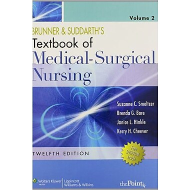 Brunner and Suddarth's Textbook of Medical-Surgical Nursing, Used Book (9781608318711)