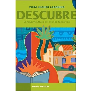 Descubre 3 Media Edition - Includes Student Edition, Supersite Code and eCuaderno Code, Used Book (9781617679254)