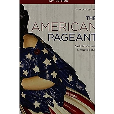 The American Pageant: Ap Edition, New Book (9781111831066)