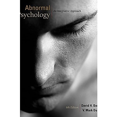 Cengage Advantage Books: Abnormal Psychology: An Integrative Approach (with ), New Book (9781111345518)