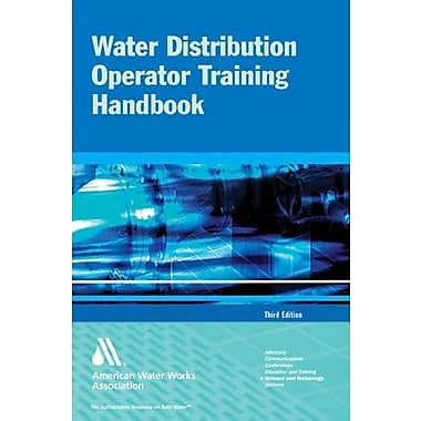 Water Distribution Operator Training Handbook 3e, New Book (9781583213728)