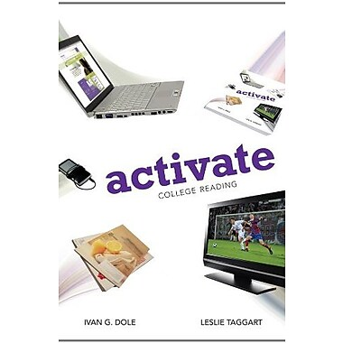 Bundle: Activate: College Reading + Aplia Printed Access Card, New Book (9781133221470)